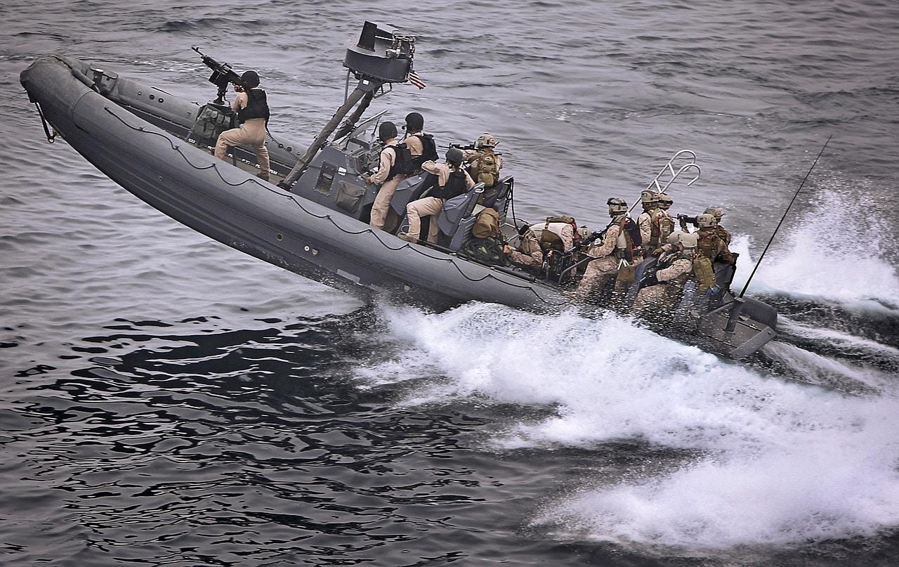 speedy military boat